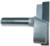 "Magnate 2708 Surface Planing ( Bottom Cleaning ) Router Bit - 2-1/2"" Cutting Diameter; 1/2"" Shank Diameter; 15/32"" Cutting Length; 2"" Shank Length"