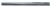 "Magnate 2946 O-Flute Tools, Right-Hand, For Plastic - 1/4"" Cutting Diameter; 1"" Cutting Length; 1/4"" Shank Diameter; 3-1/2"" Overall Length"
