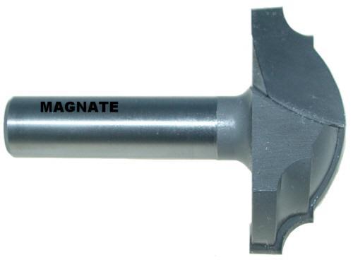 Magnate 3911 Plunge Roundover Router Bit 3//16 Radius; 1//4 Small Diameter; 1//4 Shank Diameter