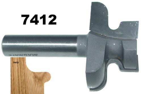 Magnate 7412 Door Lip Finger Pull Router Bit 2 Overall Diameter