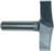 "Magnate 7525 Combination Rope Molding Router Bit - 2-1/2"" Cutting Diameter; 2"" Shank Length; 1/2"" Shank Diameter; 5-5/16"" Radius; 0.1492"" Profile Height"