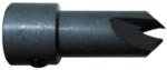 "Magnate 8640 Taper Shell High Speed Steel Countersink - 3/8"" Countersink Diameter; 1/8"" Drill Diameter; 1/2"" Shank Diameter; 3/8"" Shank Length; 1-1/4"" Overall Length"