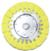 "Magnate AWH0658 Hard Airway Buffing Wheel, 100% Cotton Sheet - 6"" Diameter; 5/8"" Hole Diameter; 16 Ply; 1 Count/Pack"