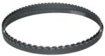 "Carbide Grit Bandsaw Blade, 124"" Long , For Cutting Abrasive and Hardened Materials: M124G12MC"