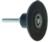 "Magnate Q2S14 Type S Pad for Quick Change Discs - 1/4"" Mandrel - 2"" Diameter"