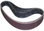 "Magnate R1.5X30S50 1-1/2"" x 30"" Closed Coat Sanding Belt - Aluminum Oxide - 500 Grit; 10 Belts/Pkg; X Weight; Resin Bond Polyester/Cotton Backings; Closed Coat"