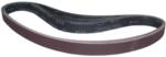 "Magnate R1X42S8 1"" x 42"" Closed Coat Sanding Belt, Aluminum Oxide - 80 Grit; 10 Belts/Pkg; X Weight; Resin Bond Polyester/Cotton Backings; Closed Coat"
