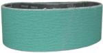 "Magnate Z3X21S10 3"" x 21"" Sanding Belt, Zirconia Alumina - 100 Grit; 10 Belts/Pkg; Y Weight; Resin Bond Polyester Backings; Closed Coat"