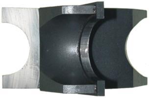 Concave 5//8 Opening; 5//16 Radius; 1-1//4 Bore Magnate M060L Bead Shaper Cutters