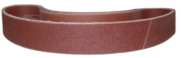 Sanding Belt Abrasive Grain Resin Polyester 180Grit Open Coat Aluminum Oxide